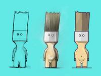 The Paint Brush Man