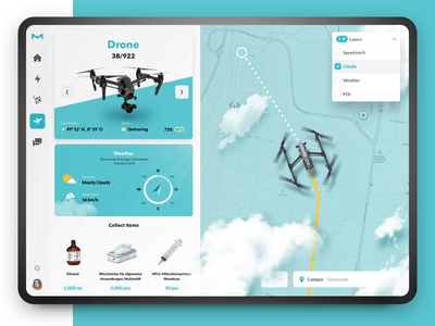 Drone Delivery Tracking