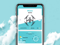Drone Delivery Tracking – iPhone App