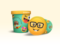 Emoji as an Ice Cream