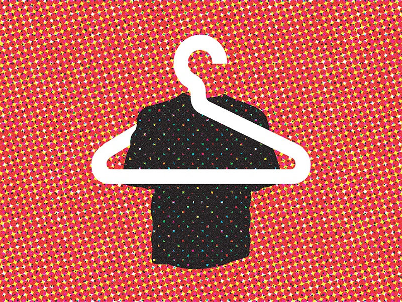 """""""Style"""" A Tribute to Shigeo Fukuda 1/6 poster icons logo vector illustration halftone"""