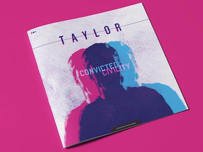 Taylor University Magazine Cover halftone illustrator cover magazine