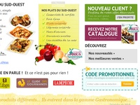 French ecommerce food website