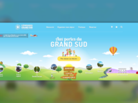 Tourism webdesign parallax slider #2
