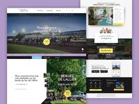Vichy website design proposition