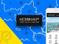 Morbihan tourism responsive website