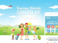 Cévennes Grand Sud responsive tourism website France