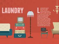 Laundry Bar illustration