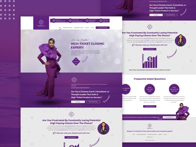 A finance Web design concept website design ui ux design ui design web desihn