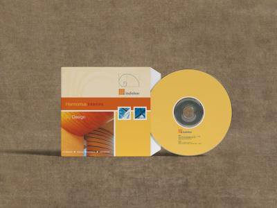 Corporate Branding cd cover logo vector branding design