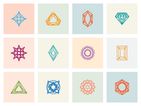 Chrysalis Gems Icon Set