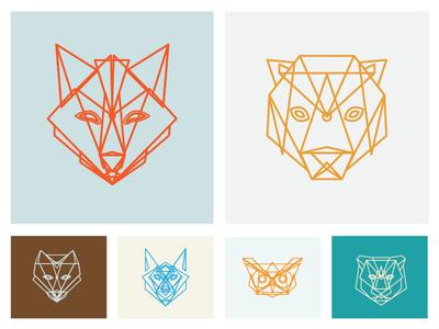 Chrysalis Animal Icons/Illustrations