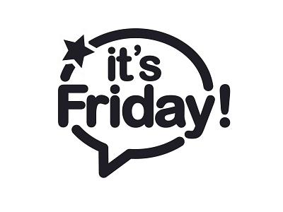 It's Friday creative artwork art social media design instagram gb73 brand logo friday
