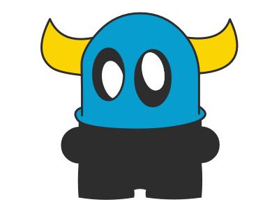 asteroache goldorak webdesign logo illustration flat toy artoyz art monster