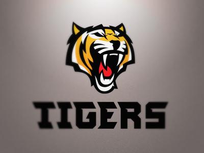 Krakow Tigers logo sport nfl tiger tigers football american orange roar