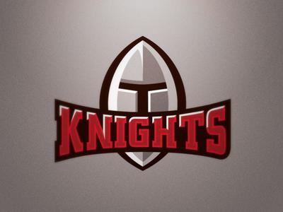 Krakow Knights logo sport nfl knight knights football american red grey helmet ball