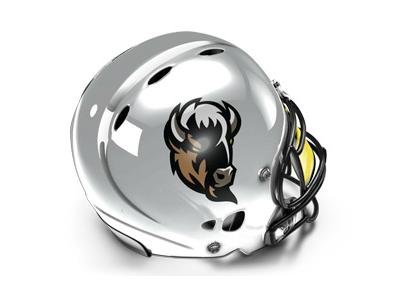 Lowlanders Białystok logo sport helmet bison lowlanders horn białystok american football