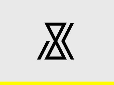 Jozef Kieras Logo studio design identity monogram black symbol logo