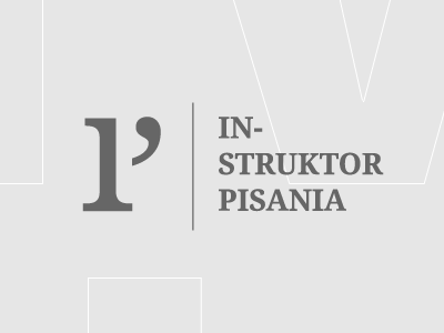 Writing Instructor (Instruktor Pisania) p i book article literary monogram instructor writing