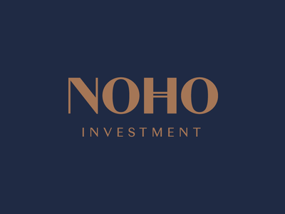 NOHO Investment unique investment quality new york prestige architecture developer real estate logo