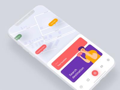 Public Transportation App Concept