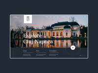 Explore Cluj Website Concept