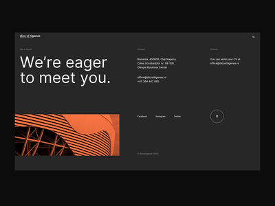Contact Page Animation