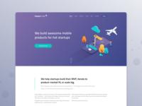 Halcyon Mobile Website Concept