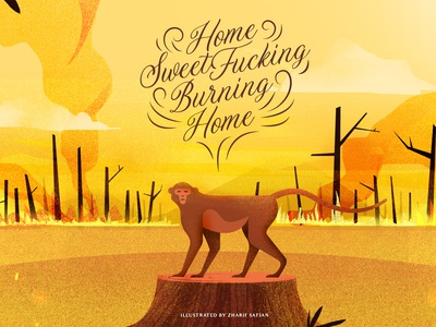 Home Sweet Fucking Burning Home