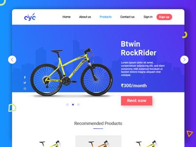 cyc_ product page ui