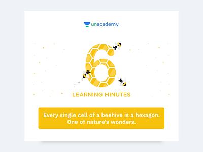 Trivia Milestones unacademy figma email education icon web mobile illustration clean creative minimal design