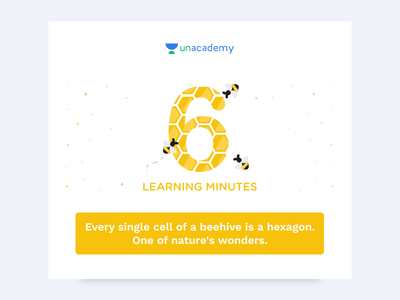Trivia Milestones unacademy figma email education icon web mobile illustration clean creative minimal design
