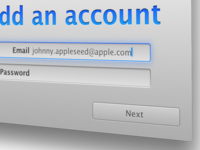 Adding a New Email Account