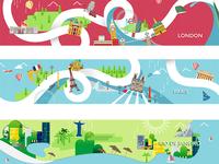 Cities Ilustration