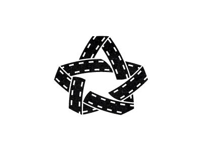 Kinostar logo design online film tape movie star sign mark logotype logo