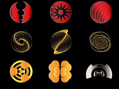Сircles circle branding logo illustration design vector graphic design