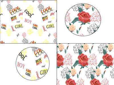 Pattern fashion pattern design vector graphic design
