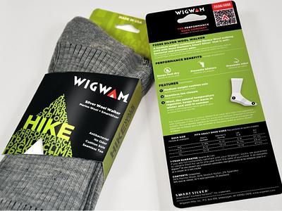 Wigwam Mills Performance Sock Packaging