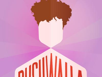 Bushwalla poster bushwalla vector hair purple poster