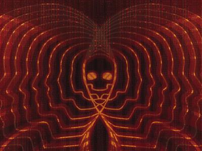 Dead Serious Lovers album cover skull