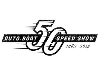 50 years hot rod logo