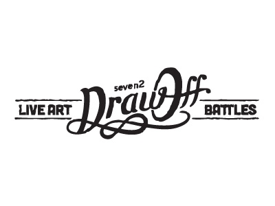 Drawofff drawoff logo battle art seven2