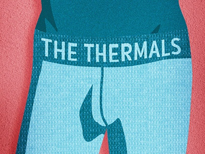 Package the thermals weiner long johnns abs hawt lolz poster