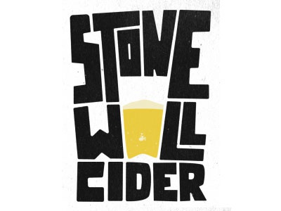 Stonewall cider illustration type