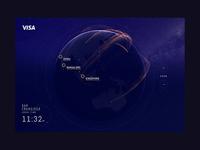 Visa Globe Desktop