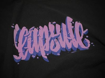 Capsule t-shirt apparel t-shirt typography lettering