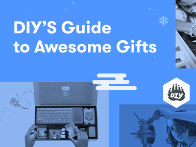 DIY Holiday Gift Guide holidays kids kits gift guide gifts