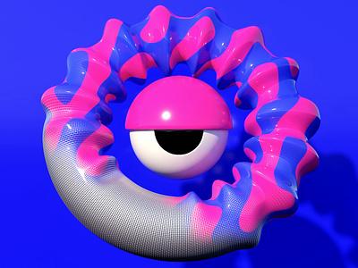 Vertex Monster R digitalart character arnoldrender c4d