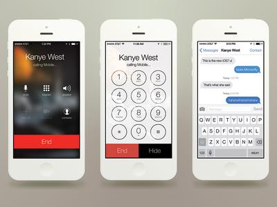 iOS7 UI Kit