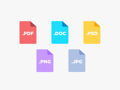 Doctypes - PSD download psd free documents files file types docs document types